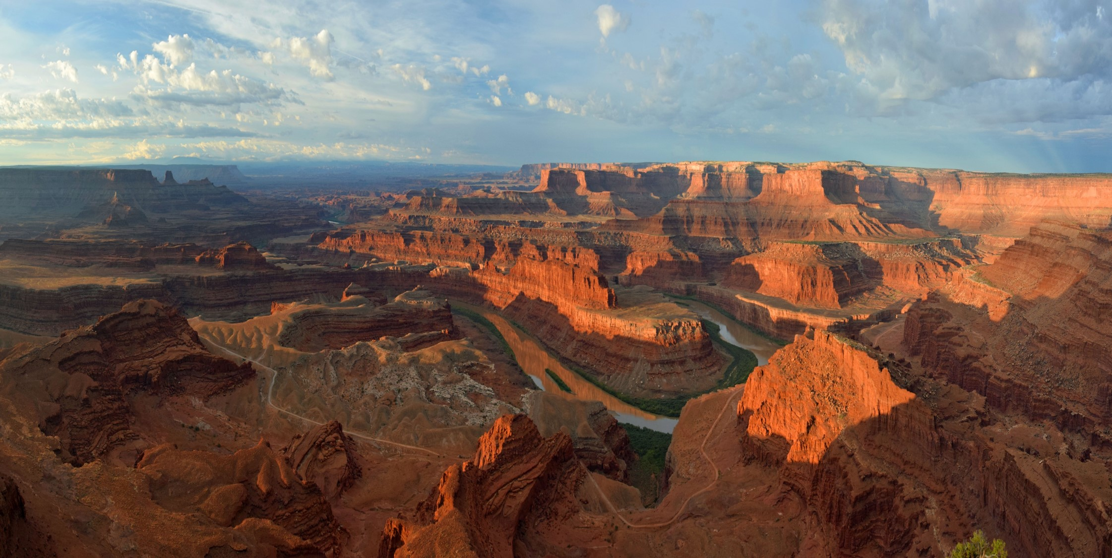 View from Dead Horse Point, National park in Utah.