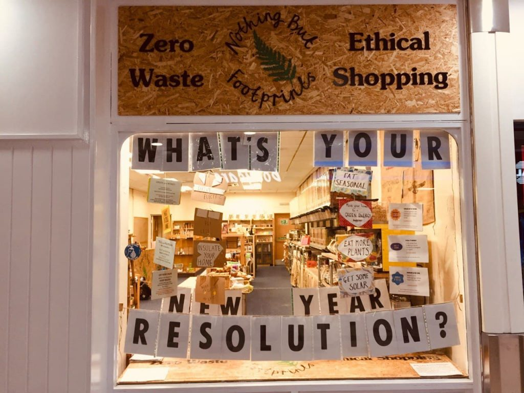 Ethical shopfront display How to  lead an activist volunteer group